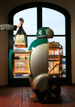 DustBot, il robot spazzino come WALL•E