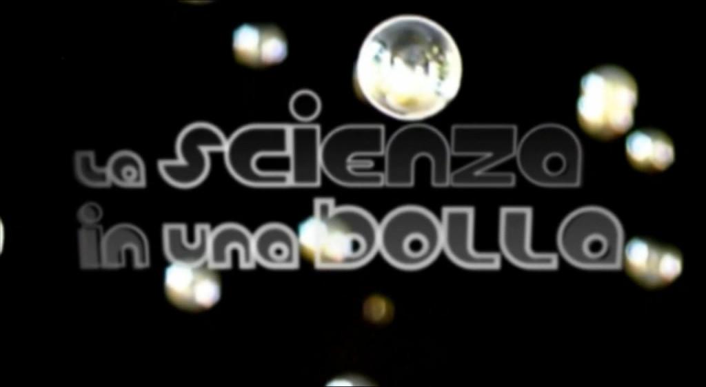 La scienza delle bolle di sapone